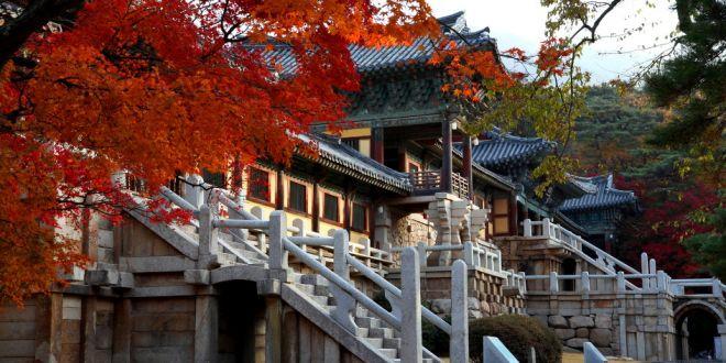 Ngôi chùa Bulguksa Hàn Quốc
