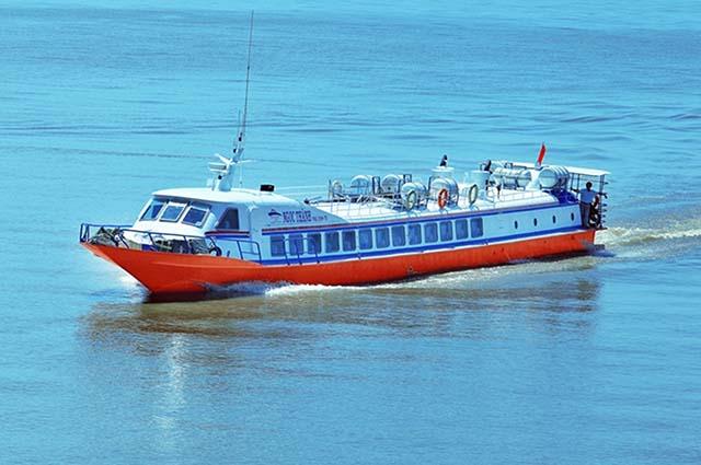 Tàu cao tốc Hà Tiên - Phú Quốc